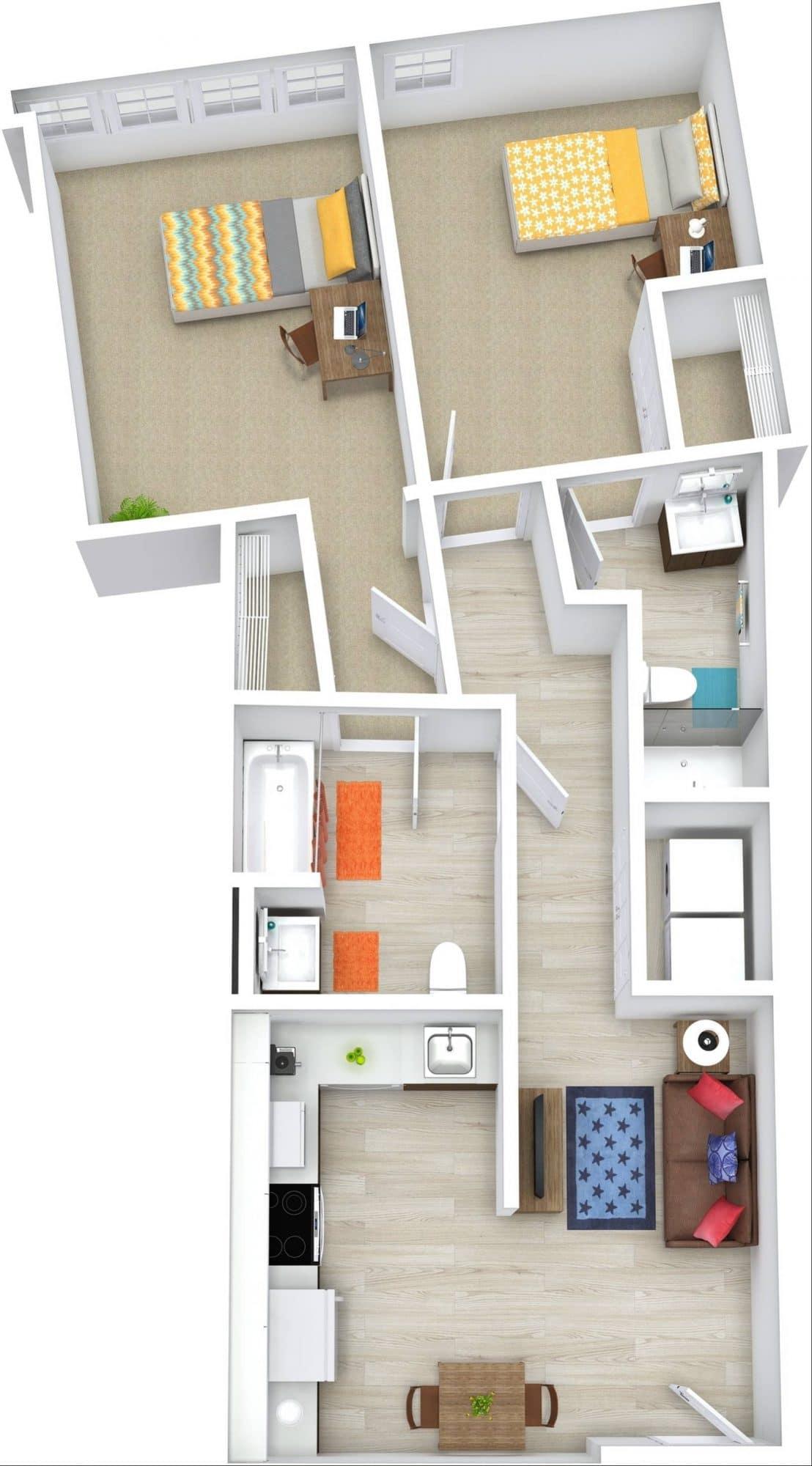 12 North Floor Plan 5